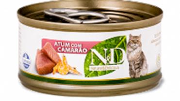 Alimento Úmido Feline Atum com Camarão 70gr - ND