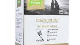 Escovas Dentais Descartáveis Profissional Cães Whitening 100 unidades - Pet Mais