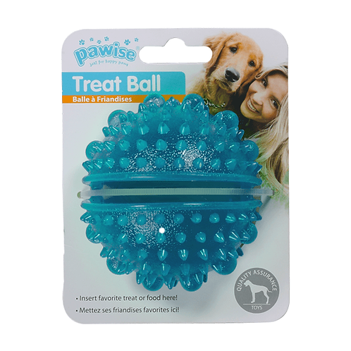 Brinquedo Bola porta-petisco Azul - Pawise