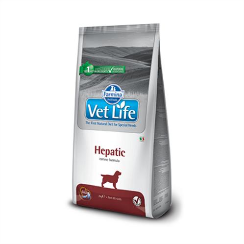 Vet Nat Canine Hepatic 2kg -Vet Life