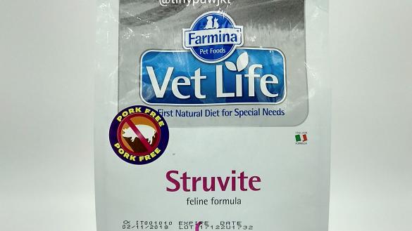 Ração Vet Nat Feline Urinary Struvite 7,5kg - Vet Life
