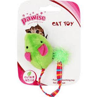 Brinquedo Rato com catnip e rabo Felpudo - Pawise