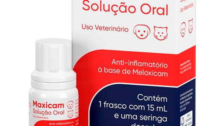 Anti-inflamatório Pet Maxicam Solução Oral 15ml - Ouro Fino