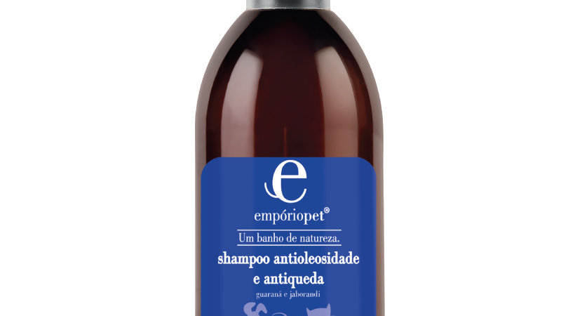 Shampoo Antioleosidade e Antiqueda 300ml - Empório Pet