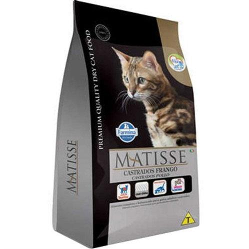 Ração Matisse Gatos Castrados Adultos sabor Frango 800gr