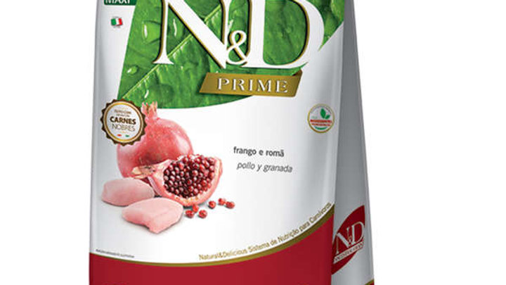 Ração ND Prime Cães Filhotes Maxi 10,1kg sabor Frango - ND