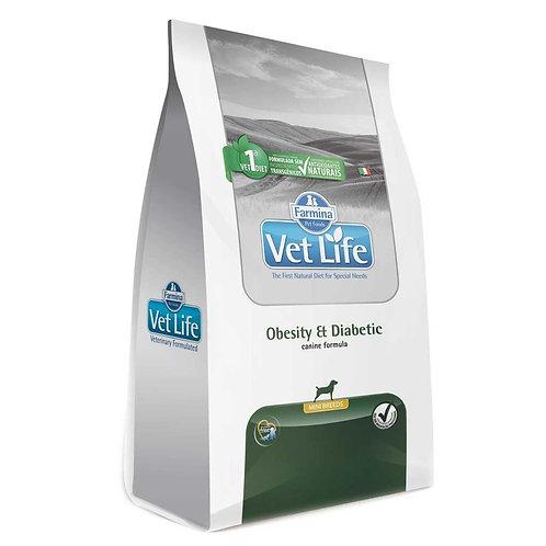 Vet Nat Canine Obesity Diabetic Mini 2kg - Vet Life