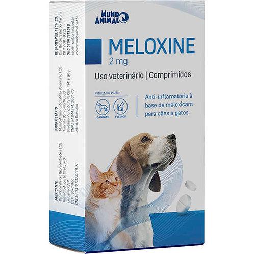 Anti-inflamatório Cães e Gatos Meloxine 2mg 10 comprimidos - Mundo Animal