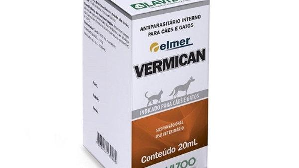 Vermífugo para Cães e Gatos Vermican 20ml - Lavizoo