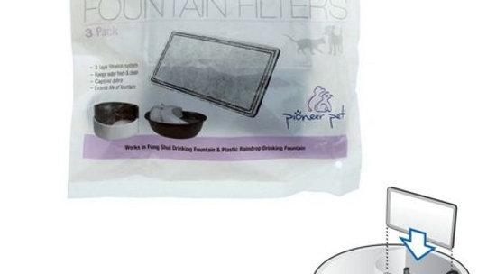 Filtro exclusivo para a Fonte Raindrop 110w  3Un - Pioneer Pet