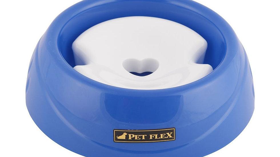 Bebedouro Pet Pêlos Longos tamanho P cor Azul - Pet Flex