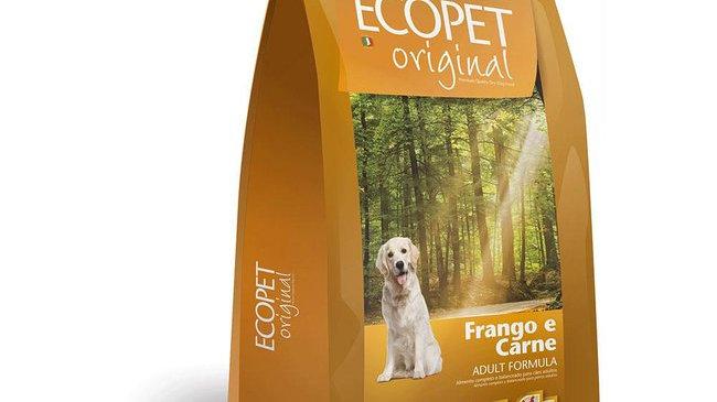 Ração Cães Adulto Raças Médias e Grandes 15kg - Ecopet Original