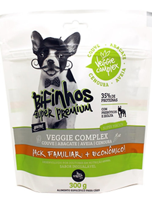 Bifinhos Super Premium Cães Veggie Complex Pack Familiar 300gr - The French Co