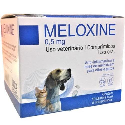 Anti-inflamatório Cães e Gatos Meloxine 0,5mg 50 comprimidos - Mundo Animal