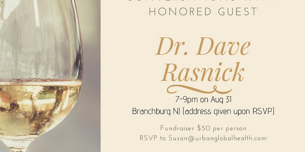 Cocktails & Conversations with Honored Guest Dave Rasnick