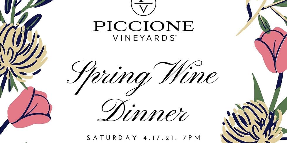 Spring Wine Dinner
