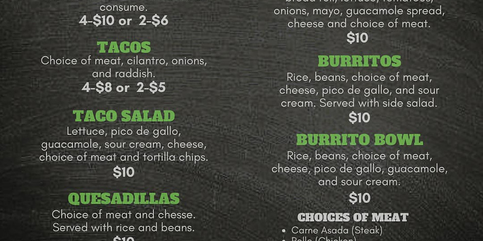 Food Truck: Cilantro and Tacos Mexican Street Cuisine