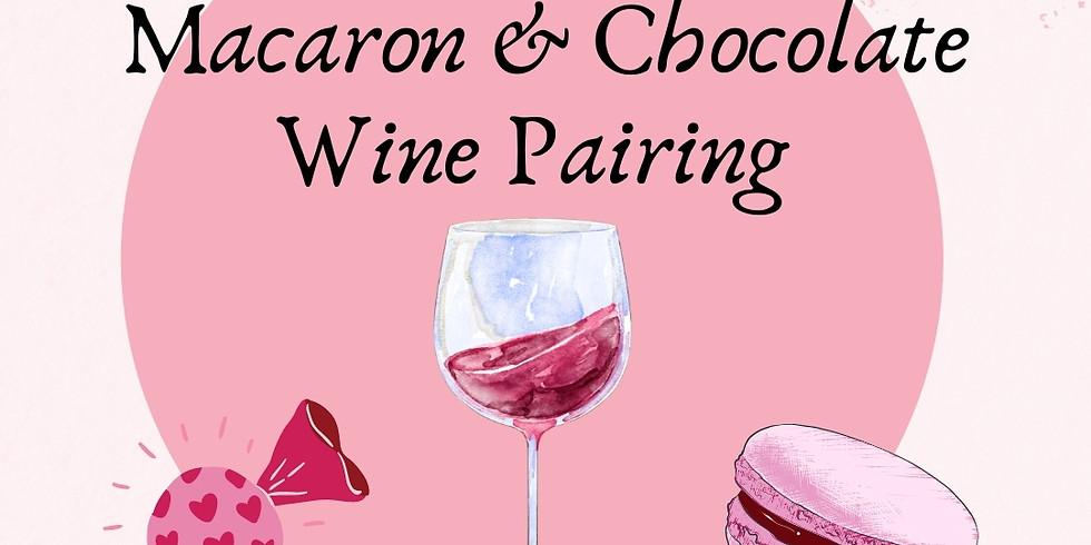 Macaron and Chocolate Pairing
