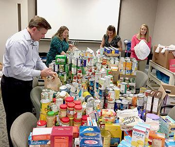 Blue Ridge Orthopaedic Food Drive nets 2,000 items