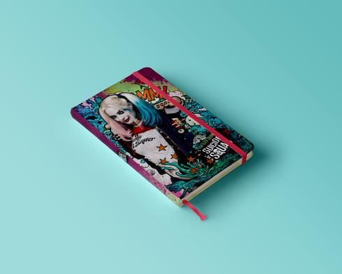 Caderno de anotações Harley Quinn