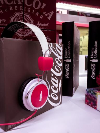 Headphone Coca-Cola