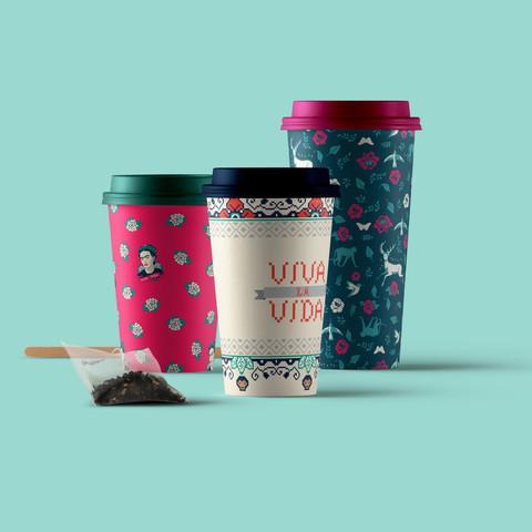Copo Starbucks Frida Kahlo