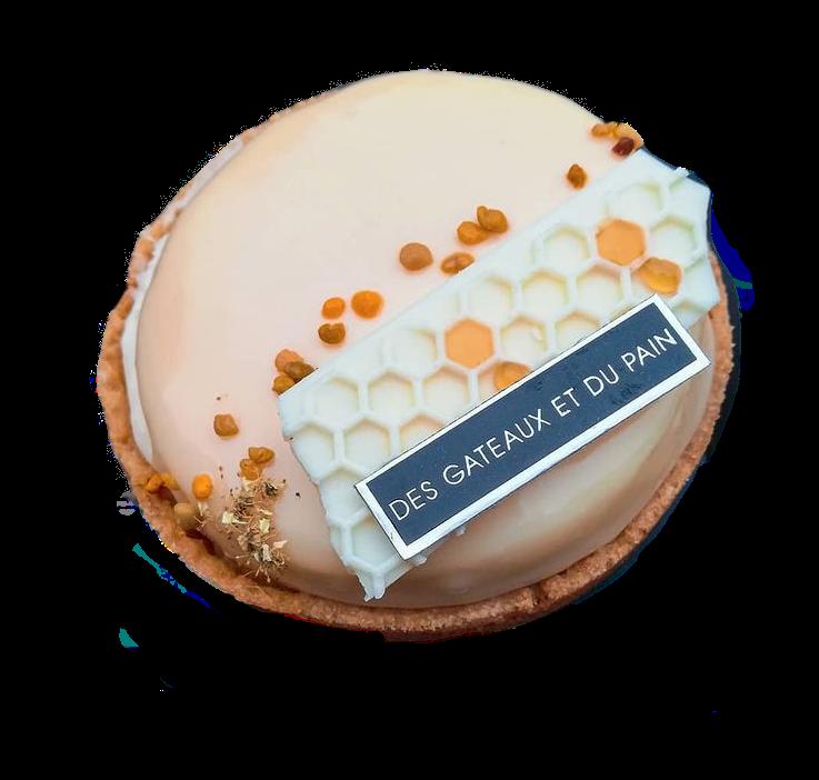 La tarte Abella de Claire Damon au miel & amandes