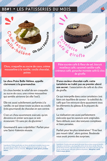 Copie de A5 Cover, Pâtisseries & Astuces