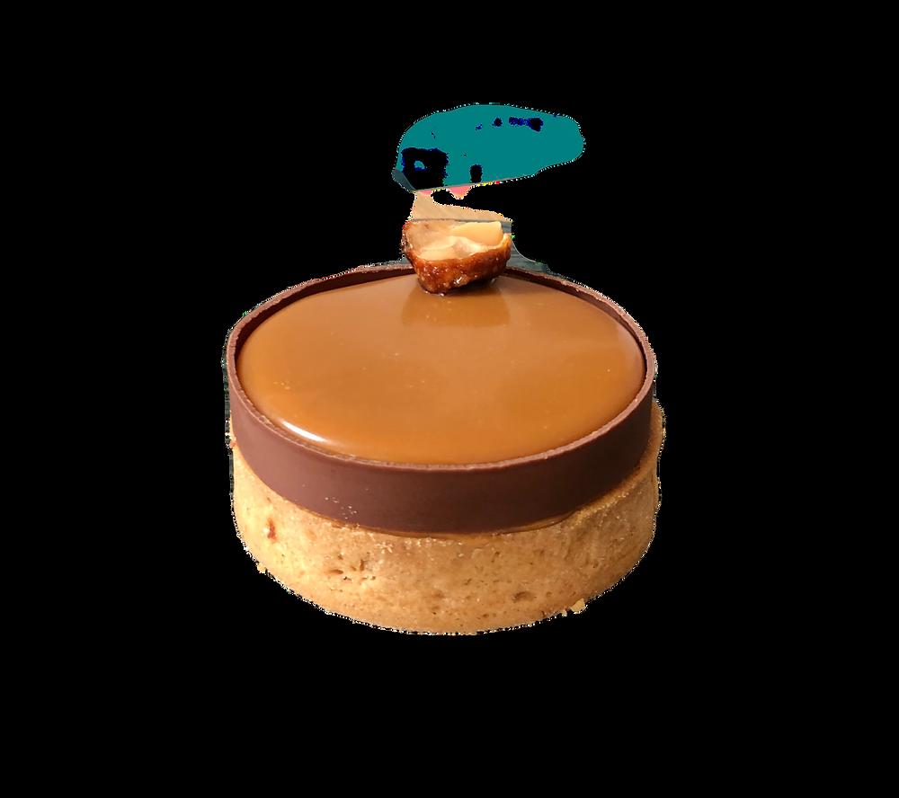 La tarte Karadamia de Kevin Lacote pour KL Pâtisserie