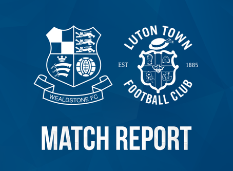 Report - Wealdstone 0 - 3 Luton Town