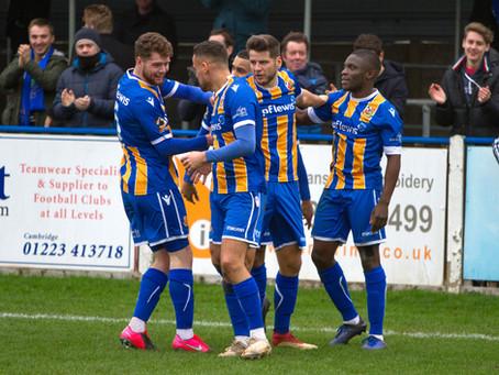 Report - Wealdstone 3 - 1 Dorking Wanderers