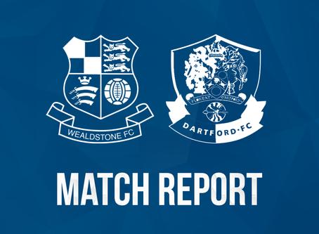 Report - Wealdstone 1 - 2 Dartford