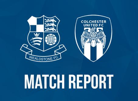 Report - Wealdstone 1 - 2 Colchester United