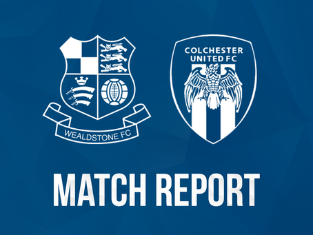 Report - Wealdstone 1 - 2 Colchester United