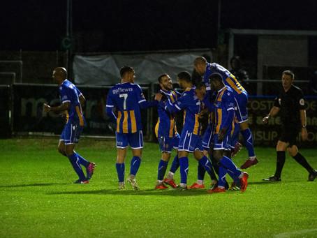 Report - Wealdstone 2 - 0 Eastbourne Borough