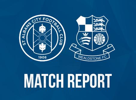 Report - St Albans City 4 - 0 Wealdstone