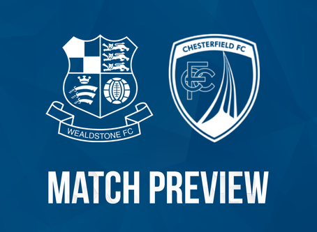 Preview – Chesterfield (H) – Tuesday 20th October