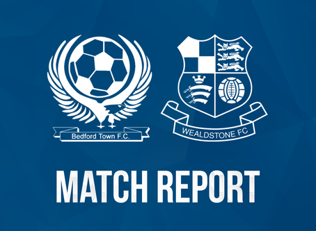 Report - Bedford Town 1 - 3 Wealdstone