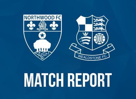 Report - Northwood 0 - 6 Wealdstone