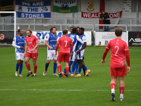 Report - Wealdstone 0 - 2 Hayes & Yeading