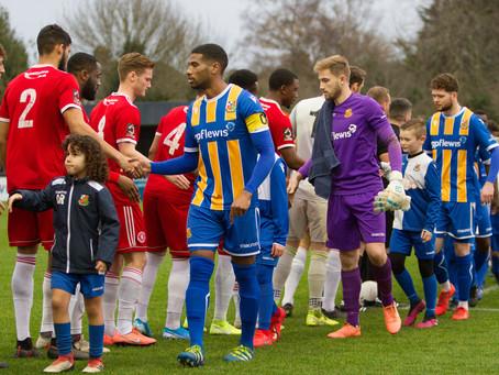 Report - Wealdstone 1 - 0 Welling United