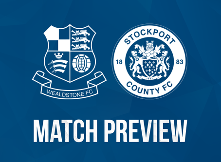 Preview - Stockport County (H) - Tuesday 13th October