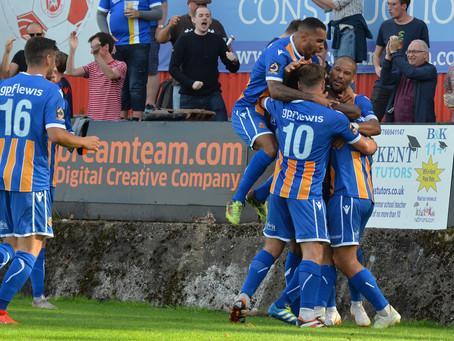 Report - Welling United 1 - 2 Wealdstone