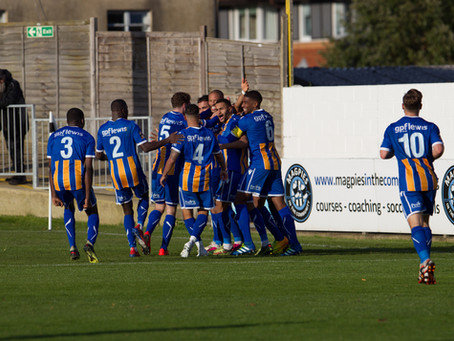 Report - Maidenhead United 1 - 1 Wealdstone