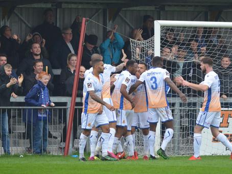 Report - Chelmsford City 1 - 3 Wealdstone