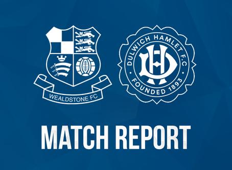 Report - Wealdstone 1 - 1 Dulwich Hamlet
