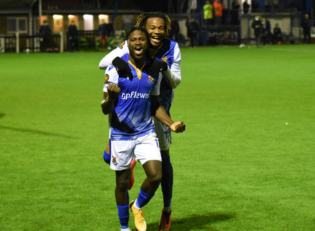 Report - Wealdstone 3 - 2 Chesterfield