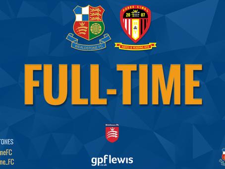 Report - Wealdstone 6 - 2 Hayes & Yeading United
