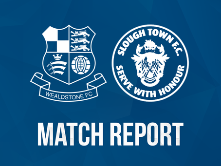 Report - Wealdstone 0 - 1 Slough Town