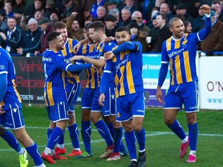 Report - Wealdstone 3 - 0 Billericay Town
